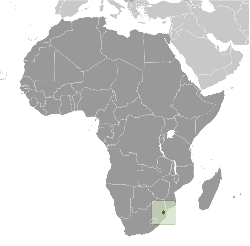 Map for Swaziland Information Directory